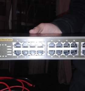 Комутатор D-LINK DES-1024D
