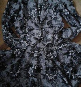 Платье много разных