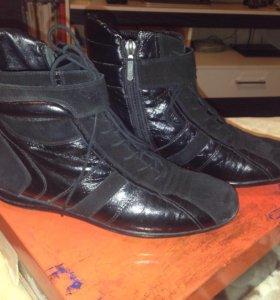 Ботинки. Натуральный мех