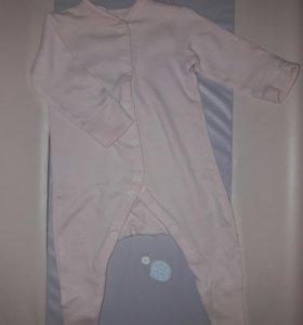 Одежда для новорожденных,  слипы