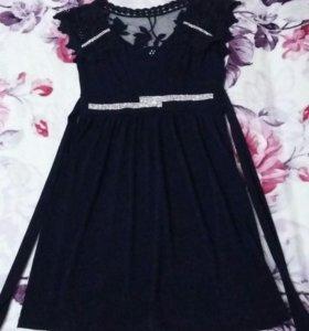 Коктельное красивое платье на девочку.