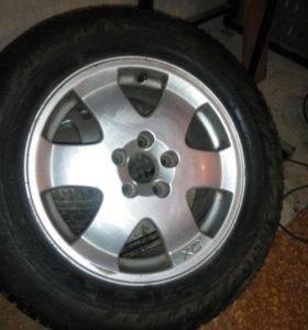 Продам пару литых дисков от Volvo xc 70