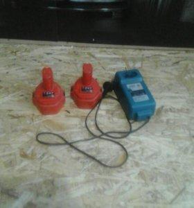 ккумуляторы,зарядное устройство