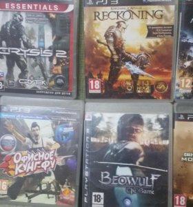 Игры на PS3, сумма договорная