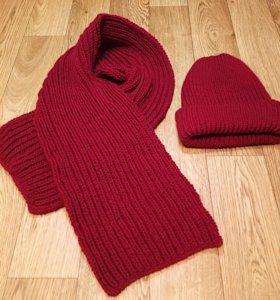 Вязаные шапки,шарфы,варежки,снуды