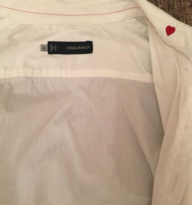 Рубашка белая Дискваред