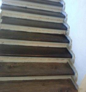 Реставрация лестниц.