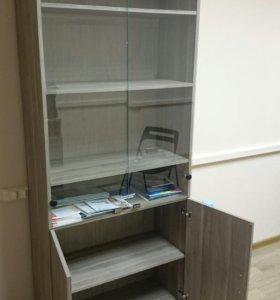 Шкаф офисный для документов/ витринный