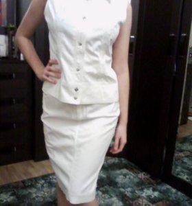 Костюм (юбка, блузка)
