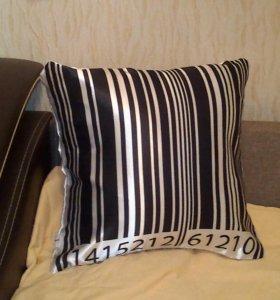 Подушка декоративная штрих