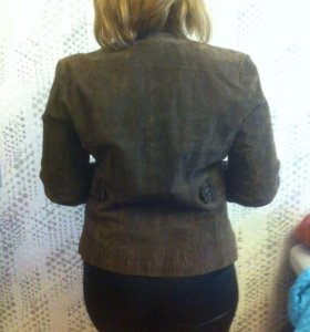 Пиджак натур.замша
