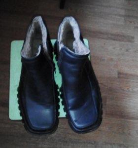 Ботинки мужские зимние43