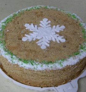 Домашний (медовый) торт на заказ