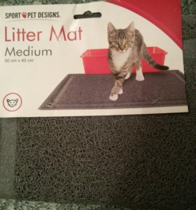 Коврик для кошачьего туалета