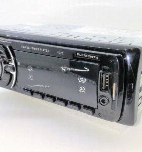 USB AUX Автомагнитола element-5 Model4020