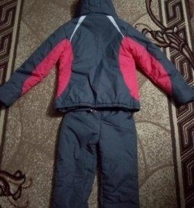 Женский зимний спортивный костюм