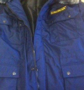 Куртка зимняя для охраника