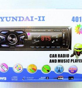 USB AUX Автомагнитола hyundai-ll Model 4018
