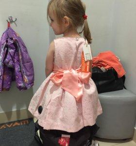 Нарядное платье для девочки рост 104