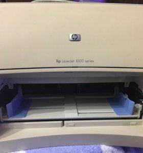 Принтер HP laserjet 1000 series