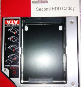 Переходник dvd на жд ssd жесткий диск оптибэй 12.7