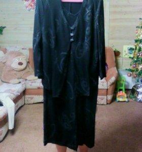 Платье  с жакетом 52-54