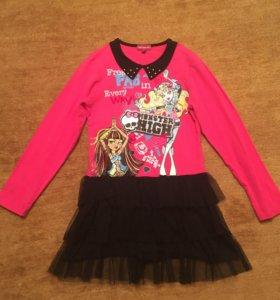 Платье Monster High 140 см