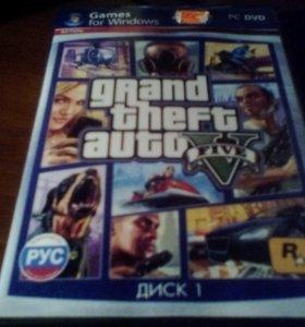 Компьютерная игра GTA5