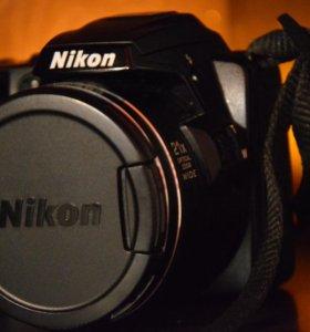ФОТОКАМЕРА NIKON Coolpix L120 + подарок.
