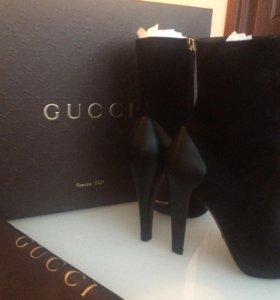 Сапоги демисезонные Gucci
