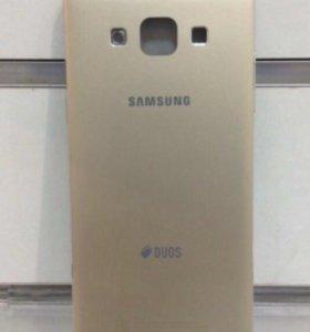 Samsung A500F корпус оригинал золото