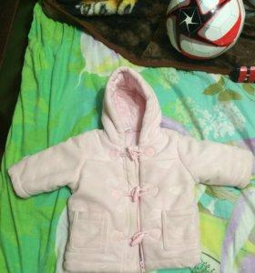 Куртка весна, осень размер написан от 3-6 месяцев