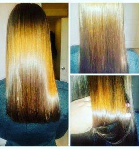 Кератин -восстановления -выпрямление волос