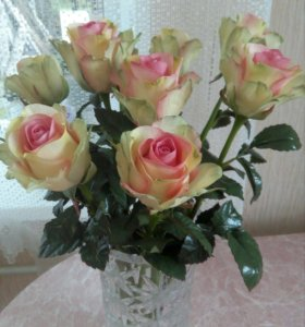 Розы ручной работы!!!