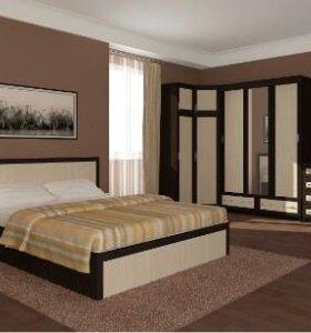 Кровать 160 с матрасом новая