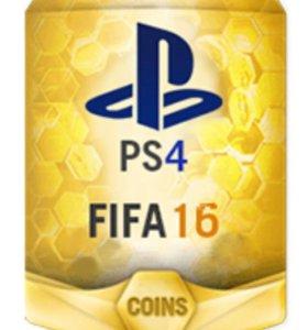 Монеты FIFA 16 на PS4