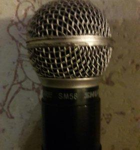 Радиомикрофоны shure lx88