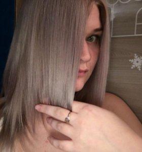 Окрашивание волос, причёски