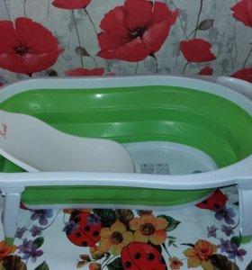 Складная ванна с горкой