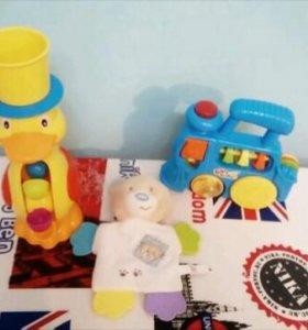 Погремушки, игрушки для маленьких