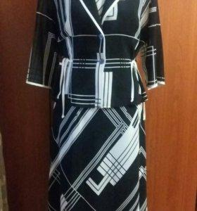 Платье+жакет