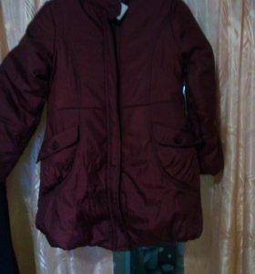 Куртку детскую р.32 Зима. Новая.