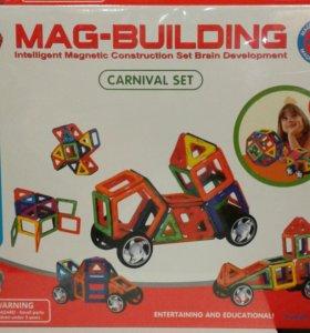 Магнитный конструктор Mag Building, 56-58 дет.