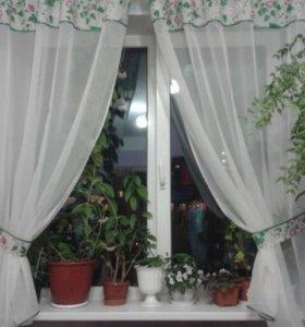 Новые шторы вуаль