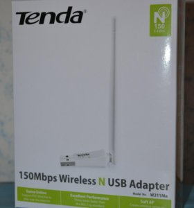 Wi-Fi адаптер Tenda W311Ma