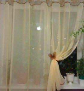 Новая штора тюль вуаль