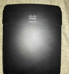 WiFi роутер CISCO Linksys E1200