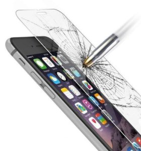 Защитное стекло HD CRYSTAL для iPhone 5/5S/6/6S
