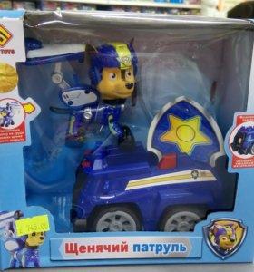 Щенячий патруль на машинах 2