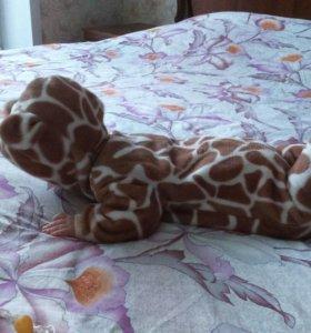 Комбинезон жираф 62 см